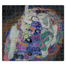 """Пазл магнитный 27.4 x 30.4 (210 элементов) """"Дева (Невинность) (Густав Климт)"""" - живопись, климт, картина"""