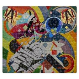 """Пазл магнитный 27.4 x 30.4 (210 элементов) """"Абстракционизм"""" - картина, живопись, супрематизм, абстракционизм, орфизм"""