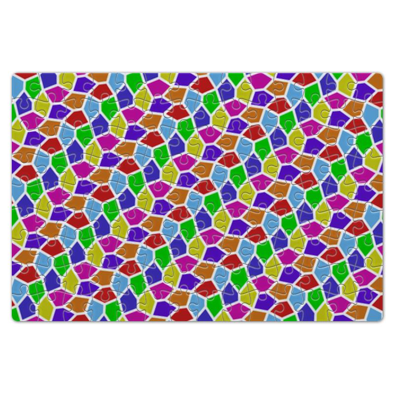 Пазл магнитный 18 x 27 (126 элементов) Printio Яркая мозаика пазл магнитный 18 x 27 126 элементов printio chevrolet camaro шевроле камаро