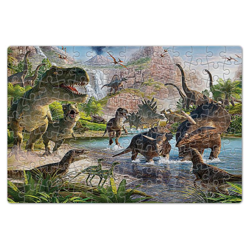 Пазл магнитный 18 x 27 (126 элементов) Printio Динозавры 126 700