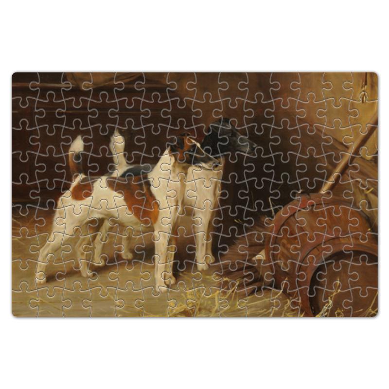 Пазл магнитный 18 x 27 (126 элементов) Printio 2018 год желтой собаки пазл магнитный 27 4 x 30 4 210 элементов printio 2018 год собаки