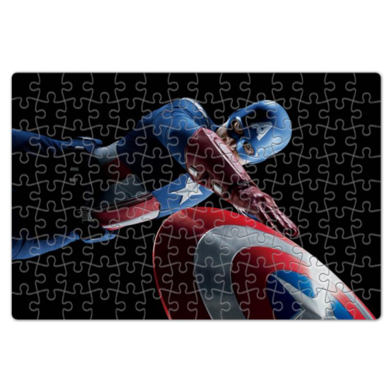 Пазл магнитный 18 x 27 (126 элементов) Printio Капитан америка наколенник магнитный здоровые суставы