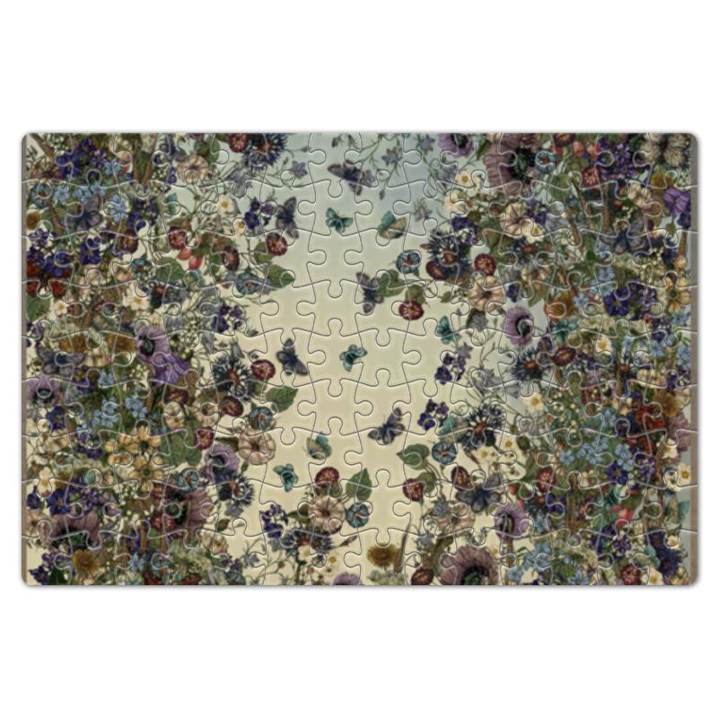 Пазл магнитный 18 x 27 (126 элементов) Printio Цветы лето пазл магнитный 18 x 27 126 элементов printio морковь