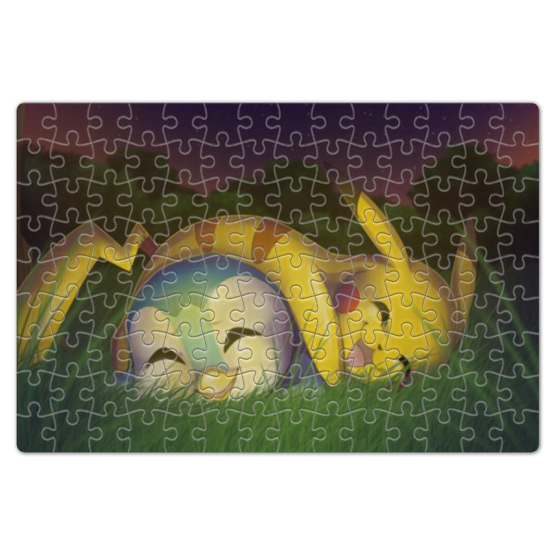 Пазл магнитный 18 x 27 (126 элементов) Printio Сон на природе (pokemon)