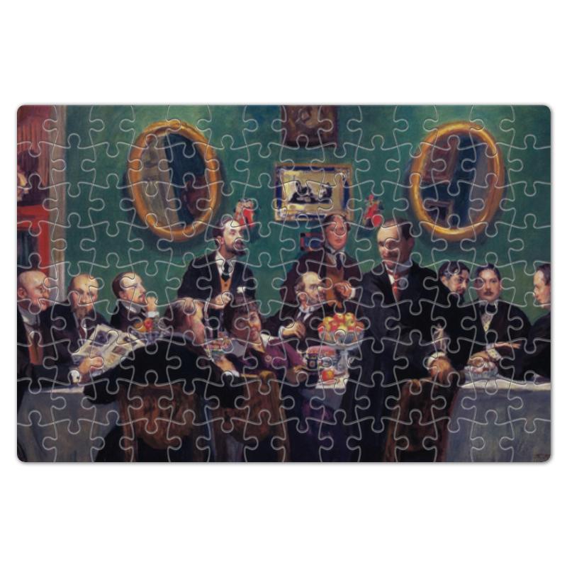 Пазл магнитный 18 x 27 (126 элементов) Printio Групповой портрет художников «мир искусства» beleduc развивающий магнитный пазл один большой мир 18 деталей