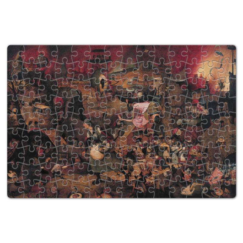 Printio Безумная грета (питер брейгель (старший)) пазл 73 5 x 48 8 1000 элементов printio детские игры питер брейгель