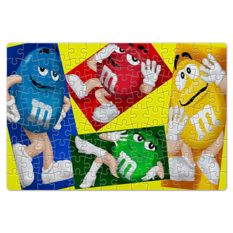 Пазл магнитный 18 x 27 (126 элементов) Printio Разноцветные друзья