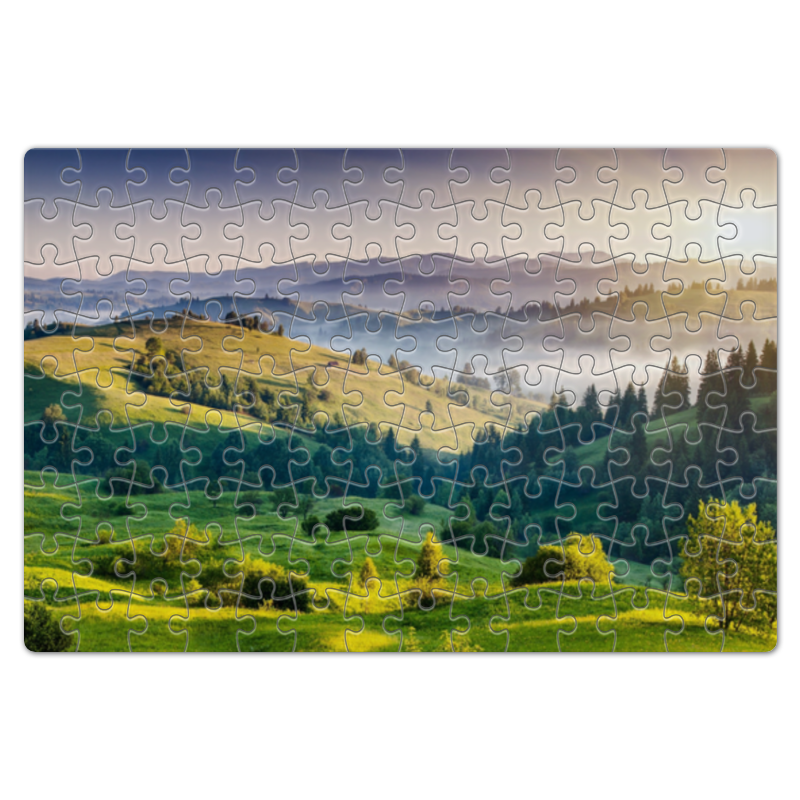 Пазл магнитный 18 x 27 (126 элементов) Printio Пейзаж