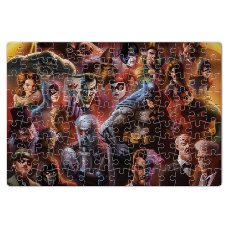 Пазл магнитный 18 x 27 (126 элементов) Printio Batman / бэтмен
