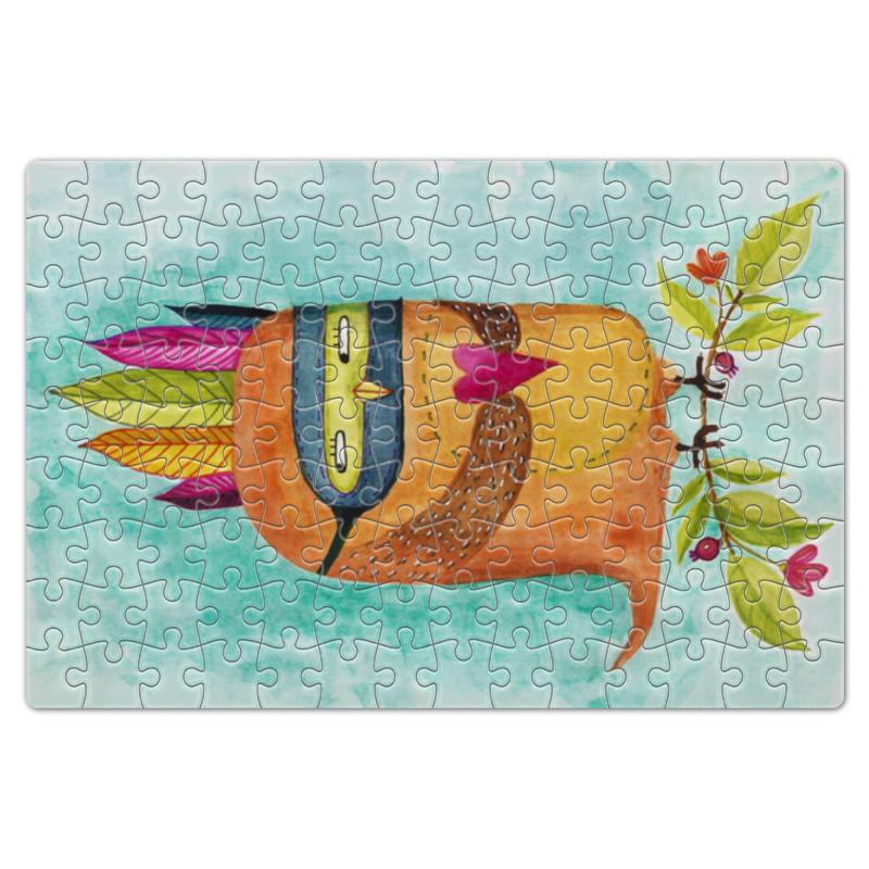 Пазл магнитный 18 x 27 (126 элементов) Printio Рыжая сова индеец пазл 360 элементов оригами 360а арт терапия сова 02897