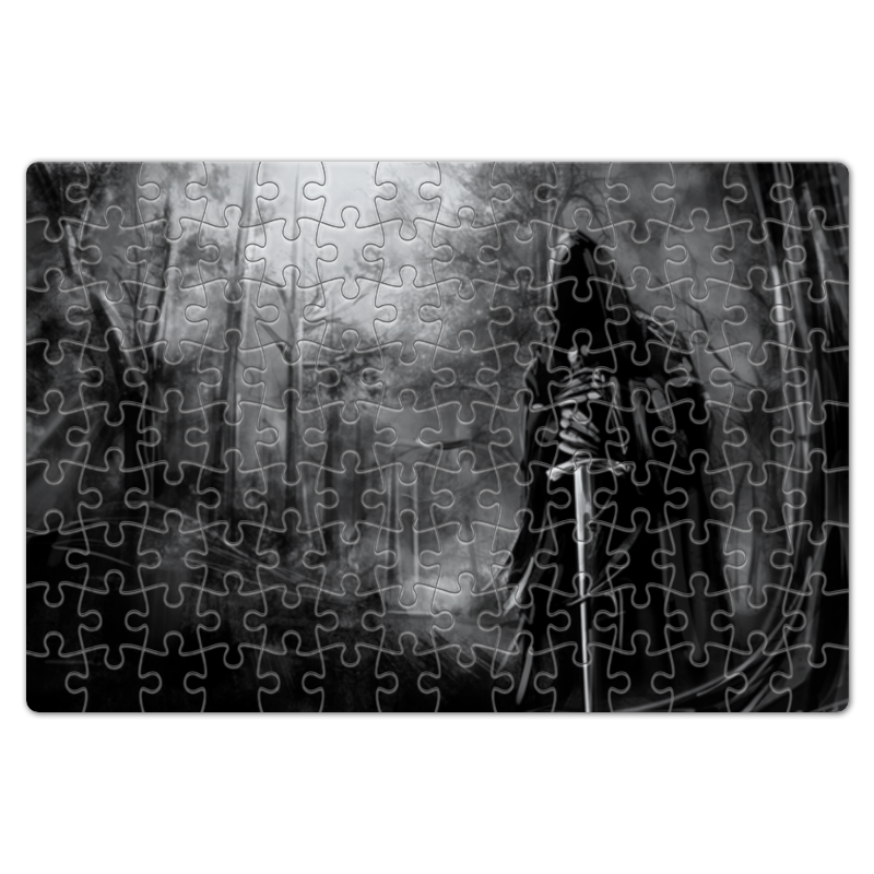 Фото - Пазл магнитный 18 x 27 (126 элементов) Printio Смерть с мечом пазл магнитный 18 x 27 126 элементов printio большой серый зайка