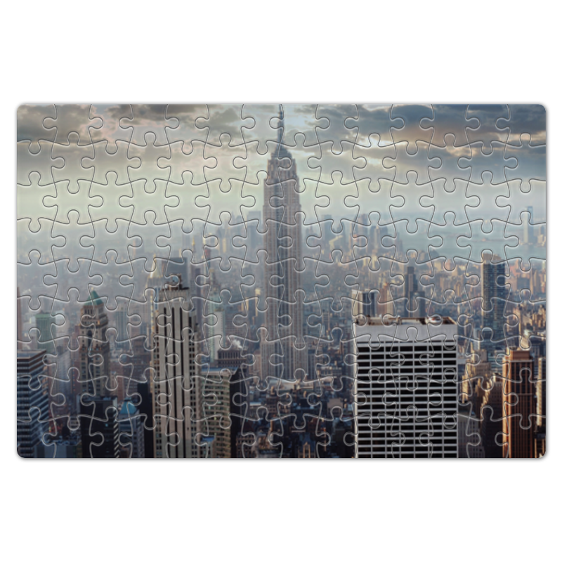 Пазл магнитный 18 x 27 (126 элементов) Printio Нью-йорк пазл магнитный 18 x 27 126 элементов printio враждебные силы густав климт