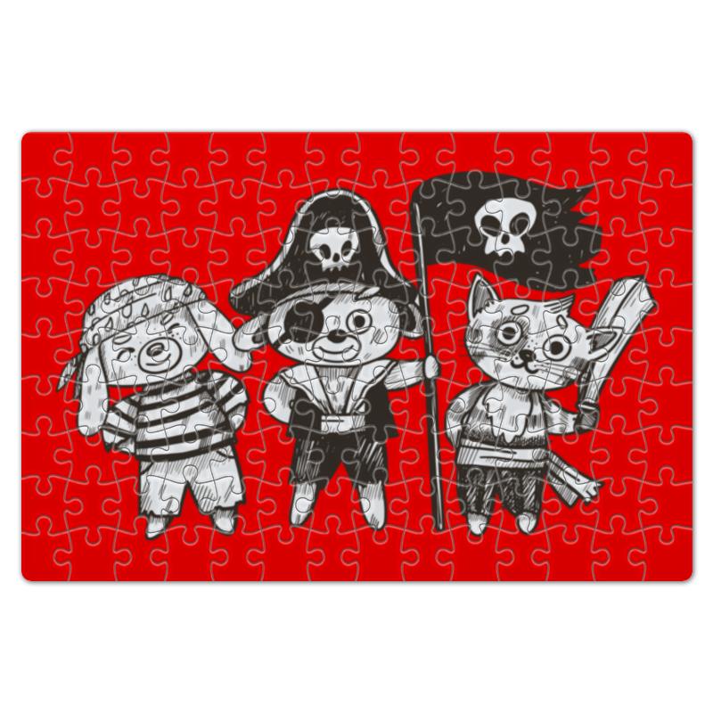 Пазл магнитный 18 x 27 (126 элементов) Printio Пираты larsen пазл пираты