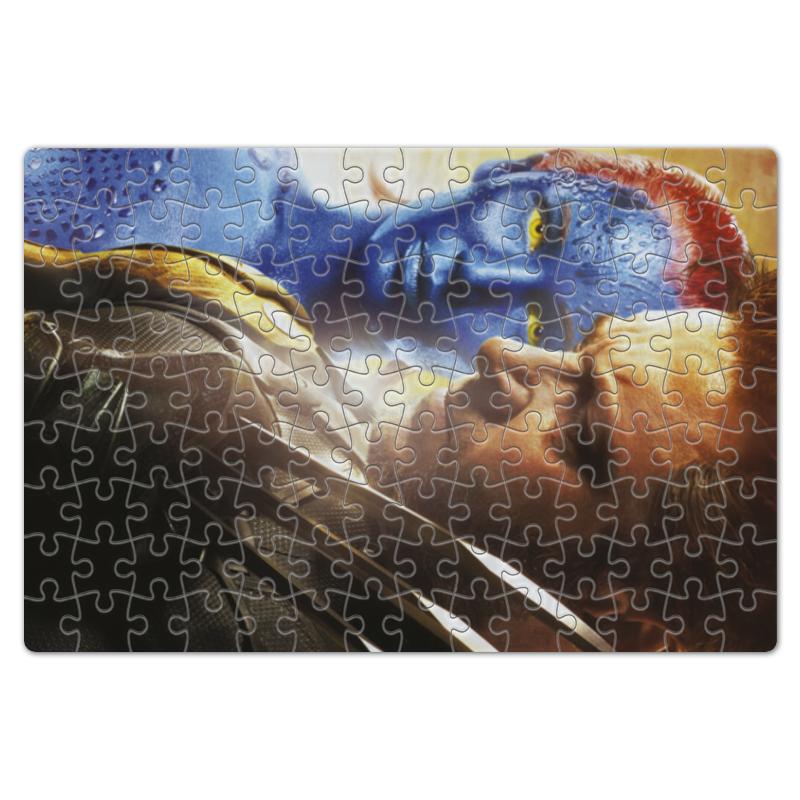 Пазл магнитный 18 x 27 (126 элементов) Printio Логан и мистик авто логан в уфе и башкирии