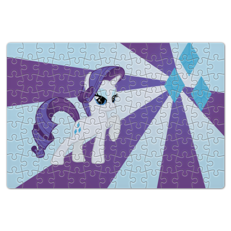 Пазл магнитный 18 x 27 (126 элементов) Printio Rarity color line пазл магнитный 27 4 x 30 4 210 элементов printio princess celestia color line