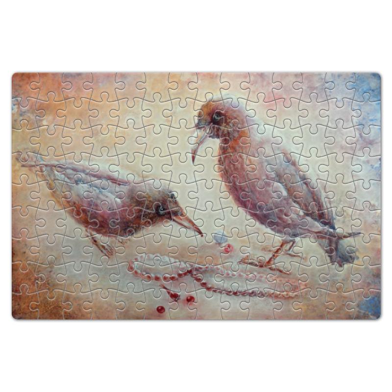 Пазл магнитный 18 x 27 (126 элементов) Printio Птицы удивительные птицы
