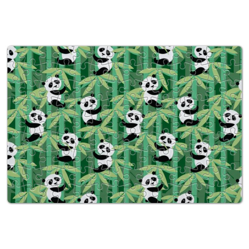 купить Пазл магнитный 18 x 27 (126 элементов) Printio Жизнь панд недорого