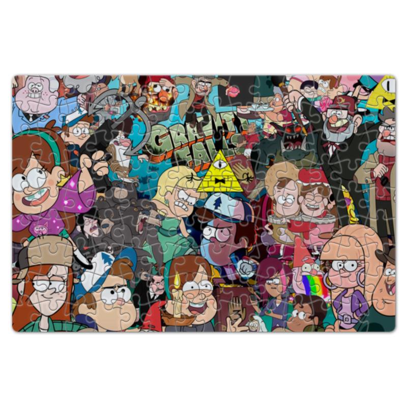 Пазл магнитный 18 x 27 (126 элементов) Gravity Falls