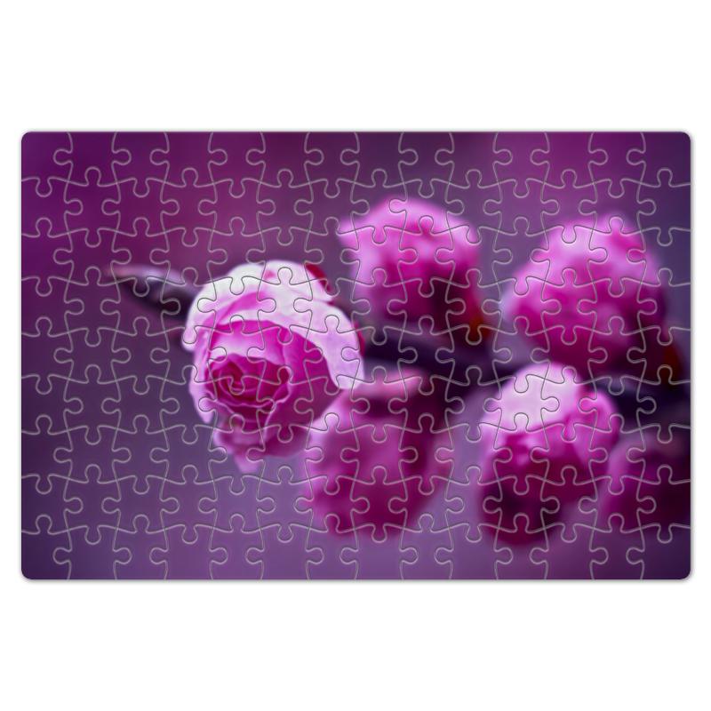 Пазл магнитный 18 x 27 (126 элементов) Printio Розовые розы часы vigor д 29 розовые розы