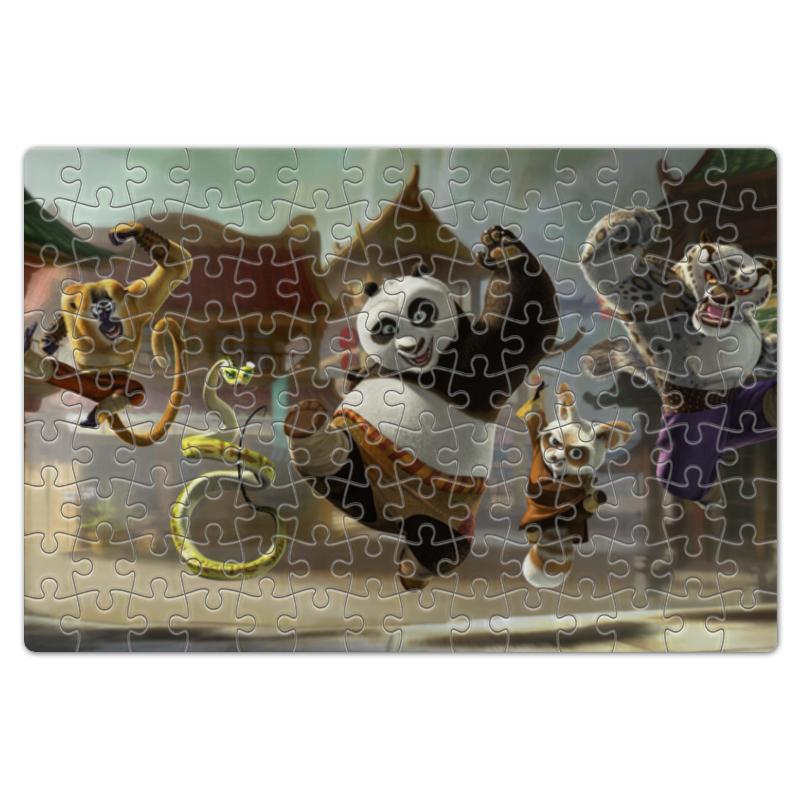 Пазл магнитный 18 x 27 (126 элементов) Printio Кун-фу панда - для детей
