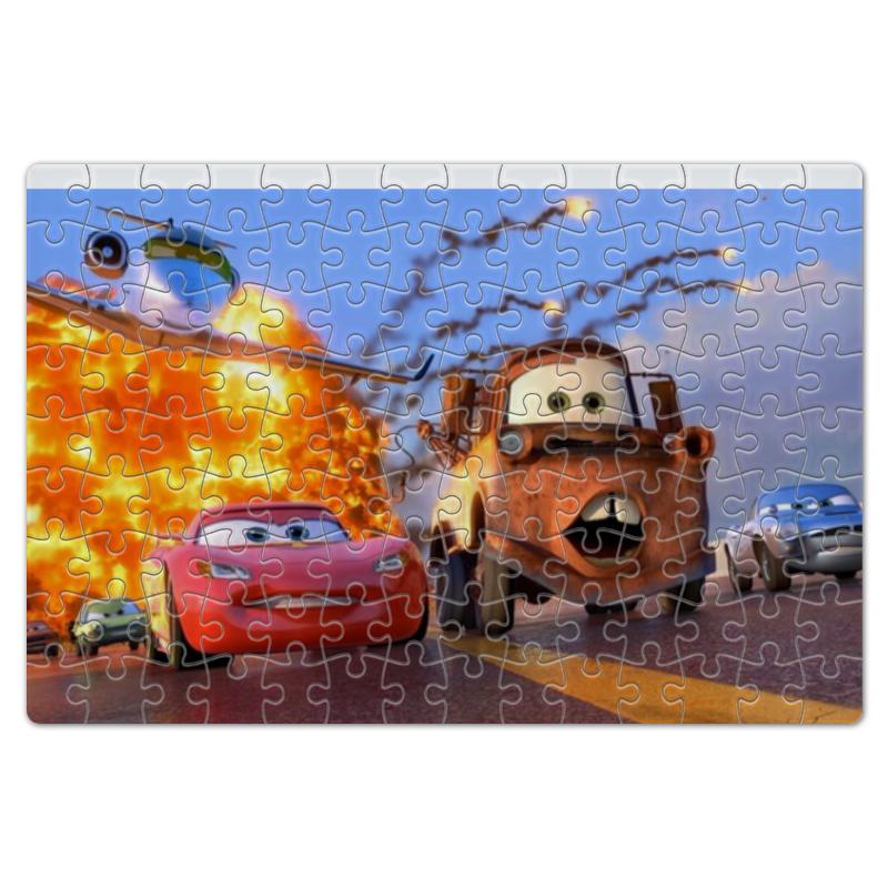 Пазл магнитный 18 x 27 (126 элементов) Printio Главные герои мультфильма тачки пазл магнитный 18 x 27 126 элементов printio главные герои мультфильма корпорация монстров