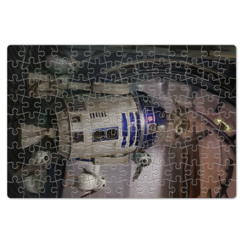 Пазл магнитный 18 x 27 (126 элементов) Printio Звездные войны - r2-d2 цена