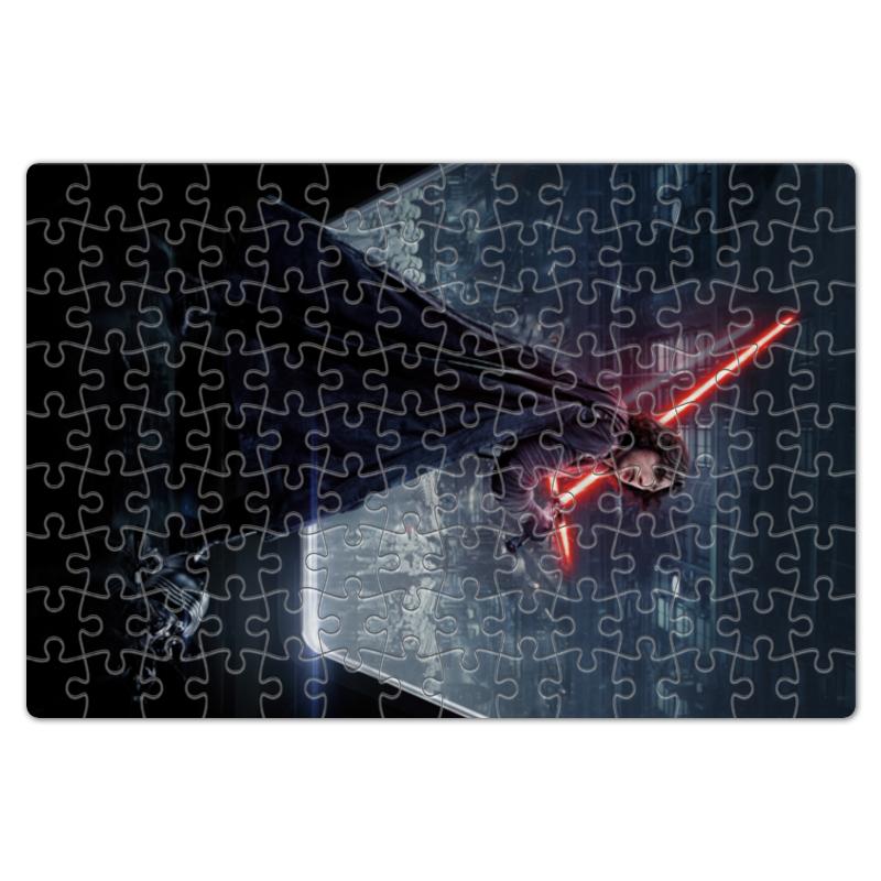 Пазл магнитный 18 x 27 (126 элементов) Printio Звездные войны - кайло рен пазл магнитный 18 x 27 126 элементов printio звездные войны финн