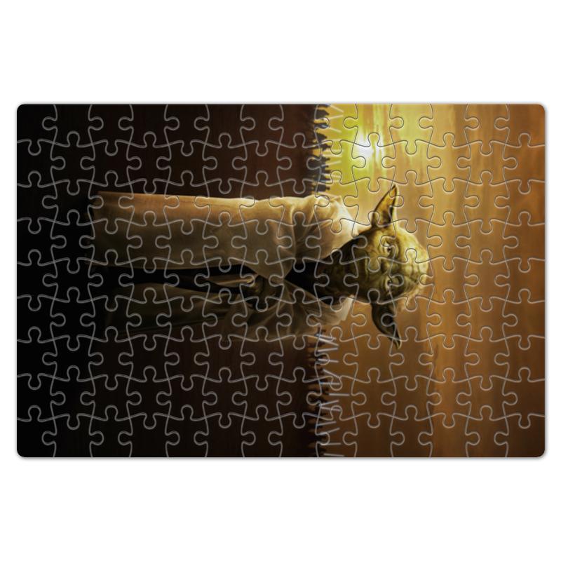 Пазл магнитный 18 x 27 (126 элементов) Printio Звездные войны - йода цена