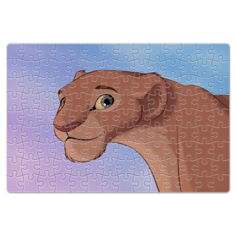 Пазл магнитный 18 x 27 (126 элементов) Printio Король лев пазл 360 арт терапия лев 02347