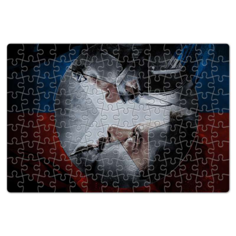 Пазл магнитный 18 x 27 (126 элементов) Printio Противостояние
