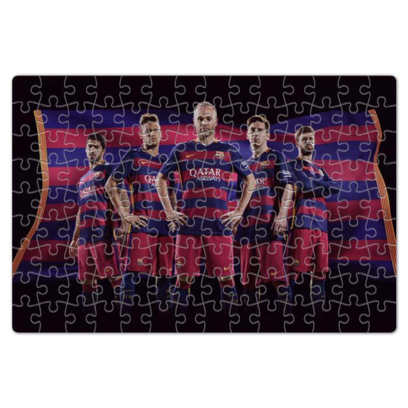 Пазл магнитный 18 x 27 (126 элементов) Printio Fc barcelona fc barcelona lassa maccabi tel aviv