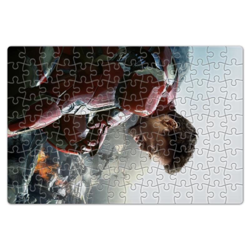 Пазл магнитный 18 x 27 (126 элементов) Printio Железный человек пазл 73 5 x 48 8 1000 элементов printio железный человек