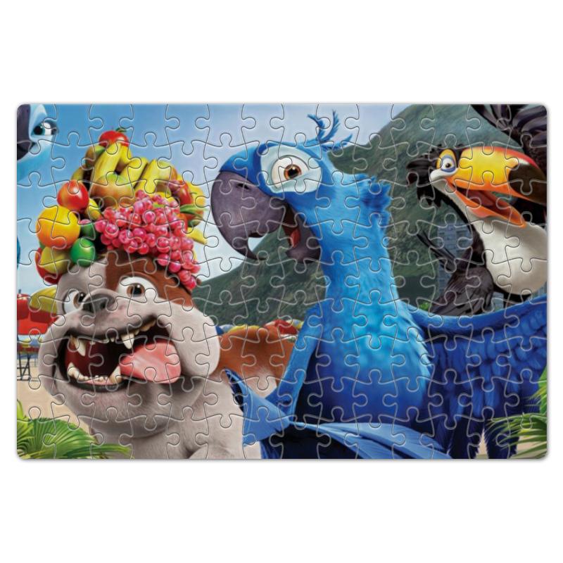 Пазл магнитный 18 x 27 (126 элементов) Printio Герои популярного мультфильма рио