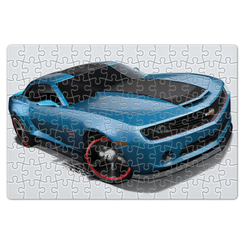 Пазл магнитный 18 x 27 (126 элементов) Printio Chevrolet camaro/ шевроле камаро