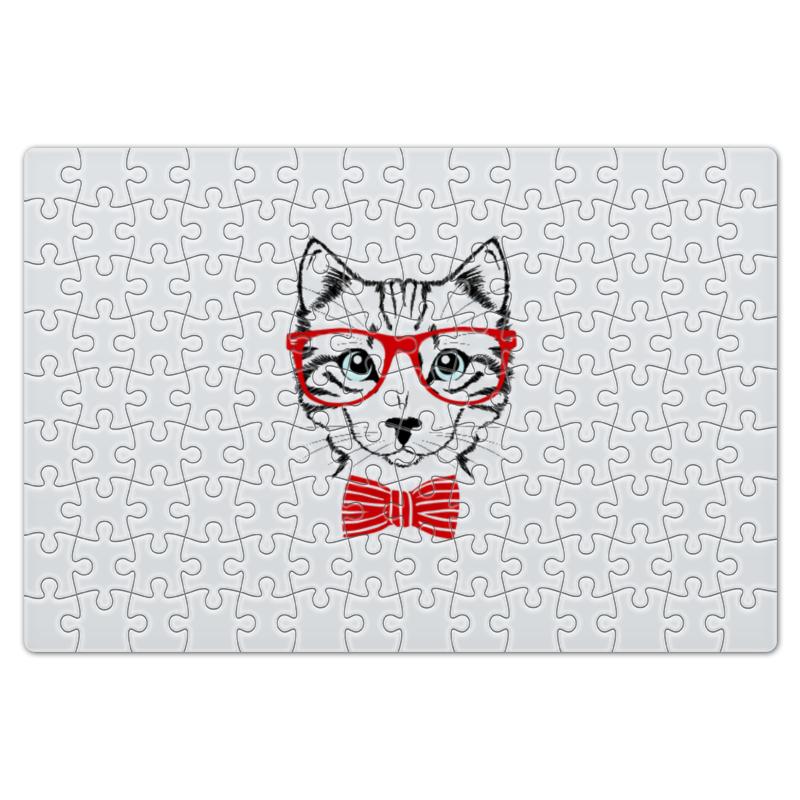 Пазл магнитный 18 x 27 (126 элементов) Printio Кошка пазл оригами арт терапия кошка 360 элементов