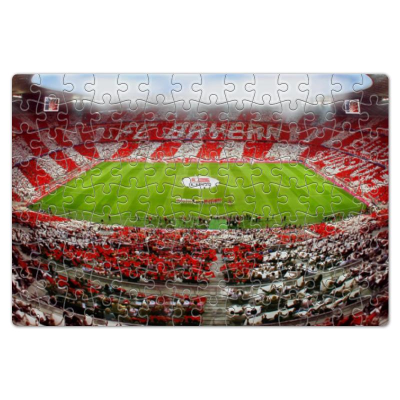 Пазл магнитный 18 x 27 (126 элементов) Printio Стадион баварии альянц-арена
