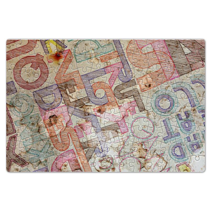 Пазл магнитный 18 x 27 (126 элементов) Printio Шрифтовая композиция