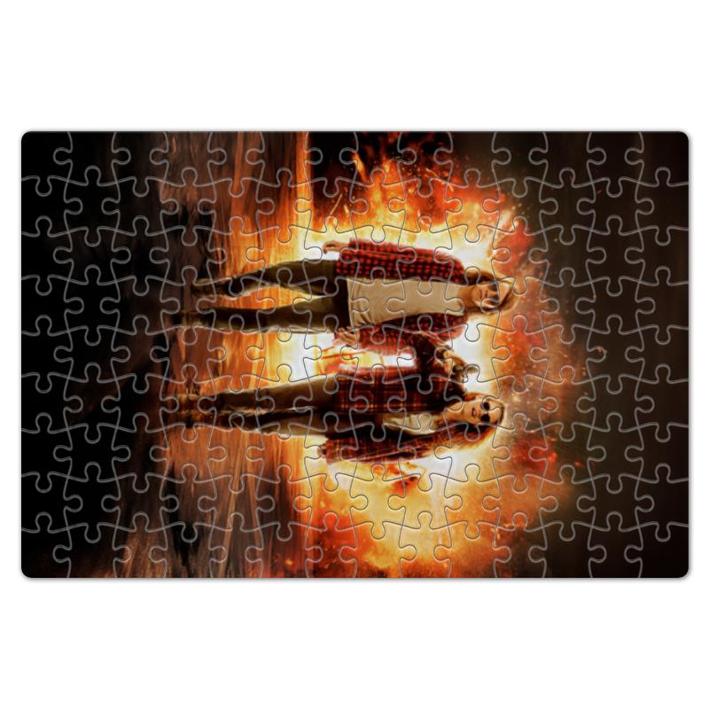 Пазл магнитный 18 x 27 (126 элементов) Printio Ультраамериканцы