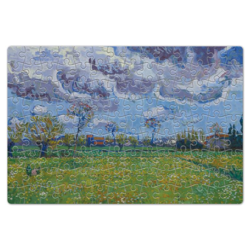 Пазл магнитный 18 x 27 (126 элементов) Printio Пейзаж под грозовым небом (винсент ван гог) bohmann 7753