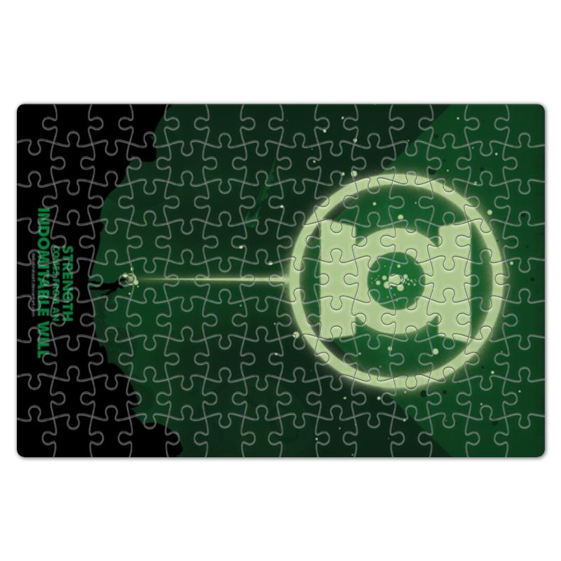 Пазл магнитный 18 x 27 (126 элементов) Printio Green lantern/зеленый фонарь