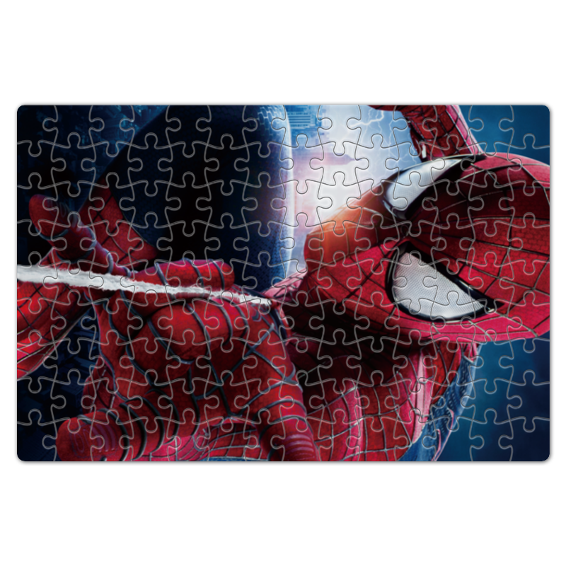 Пазл магнитный 18 x 27 (126 элементов) Printio Spider-man пазл магнитный 27 4 x 30 4 210 элементов printio замок иф