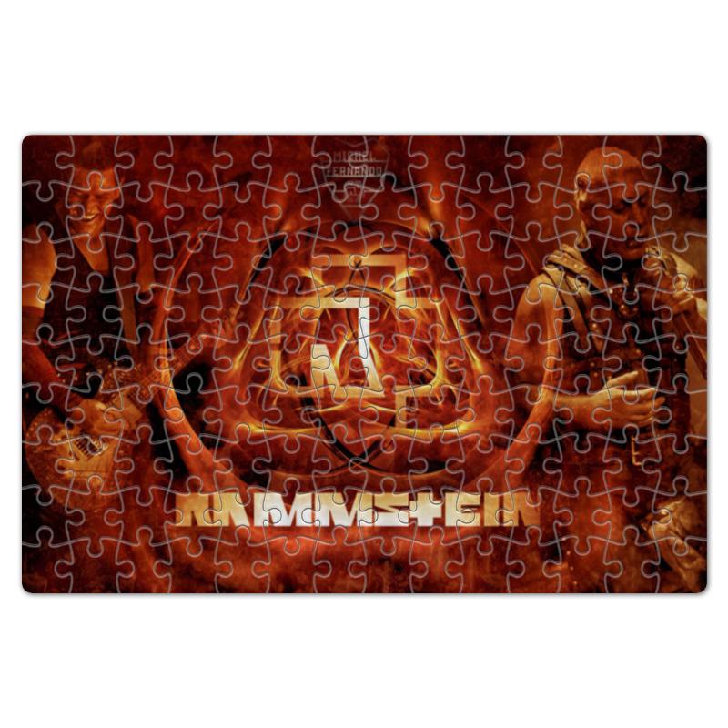 Пазл магнитный 18 x 27 (126 элементов) Printio Раммштайн