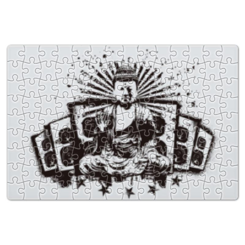 Пазл магнитный 18 x 27 (126 элементов) Printio Будда (акустика)