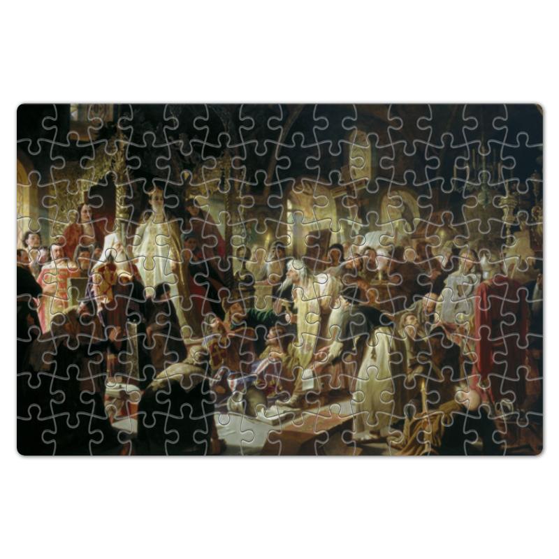Пазл магнитный 18 x 27 (126 элементов) Printio Никита пустосвят. спор о вере (василий перов) пазл 43 5 x 31 4 408 элементов printio шарманщик василий перов
