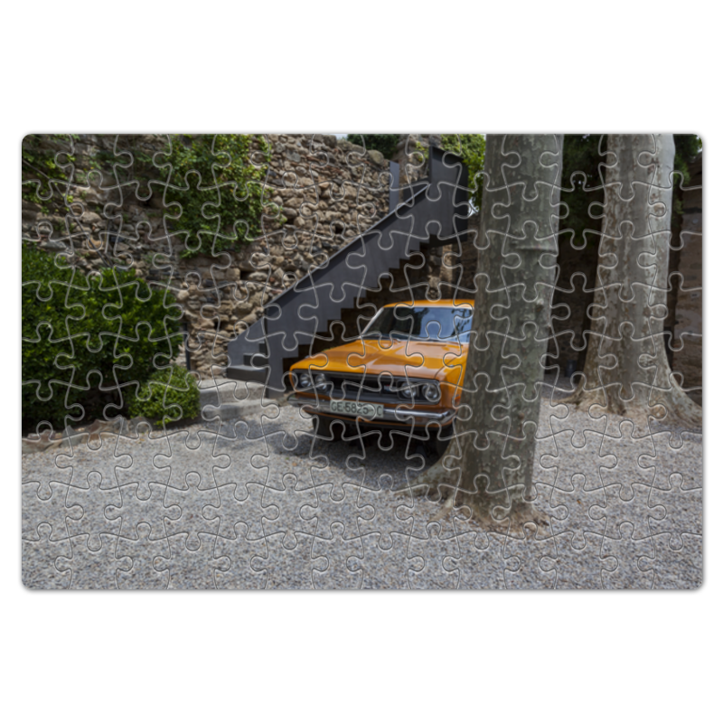 Пазл магнитный 18 x 27 (126 элементов) Printio Автомобиль галы куплю подержаный автомобиль во владивостоке