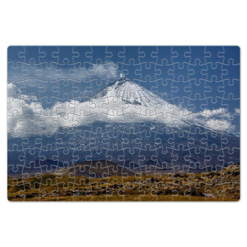 Printio Камчатка, осенний пейзаж, извержение вулкана майка print bar камчатка