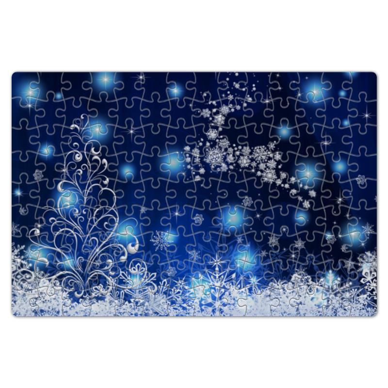 Пазл магнитный 18 x 27 (126 элементов) Printio Новогодний ricom вешалка для одежды ricom а2501 mpftwqd