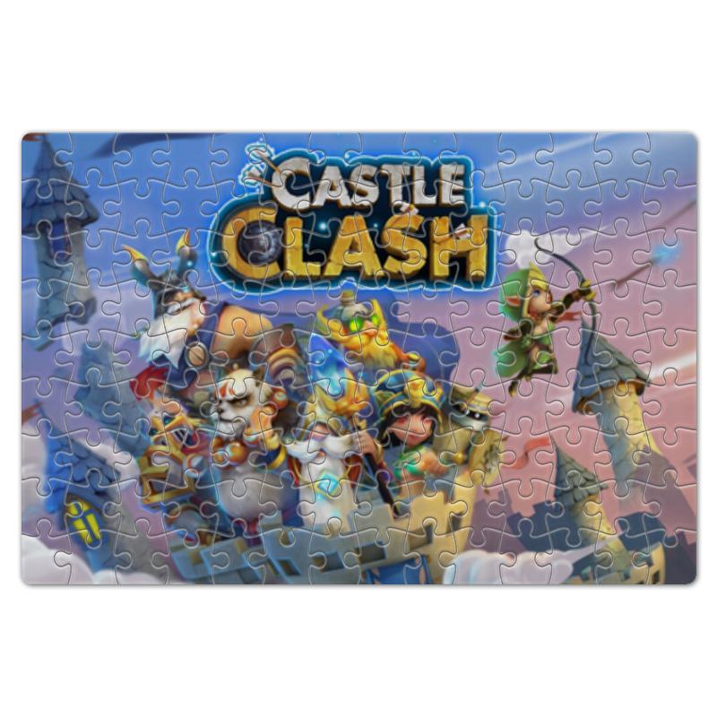 Пазл магнитный 18 x 27 (126 элементов) Printio Castle clash наколенник магнитный здоровые суставы
