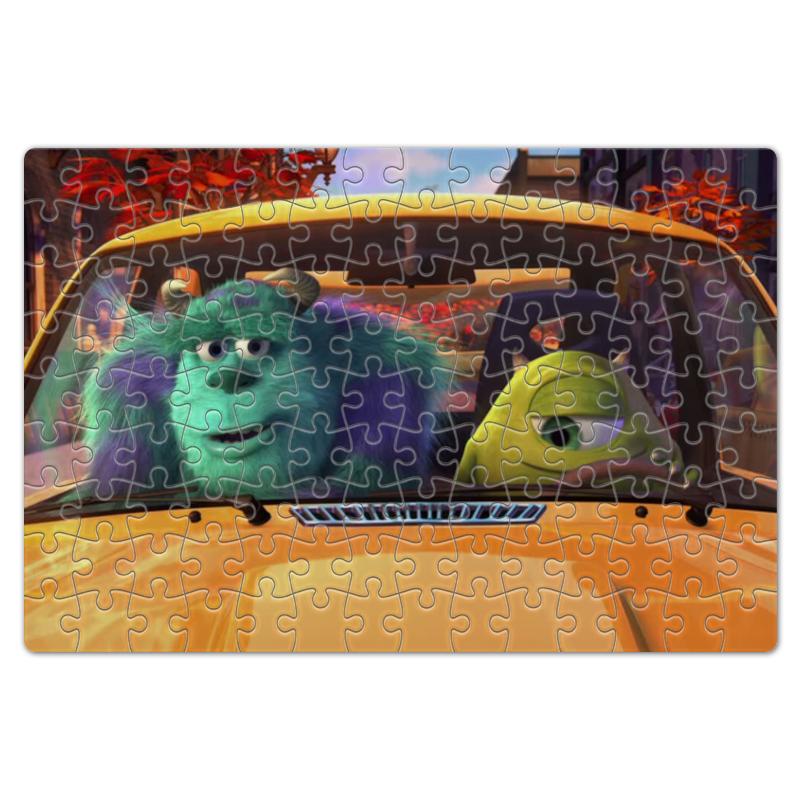 Пазл магнитный 18 x 27 (126 элементов) Printio Главные герои мультфильма корпорация монстров пазл магнитный 18 x 27 126 элементов printio герои мультфильма рататуй