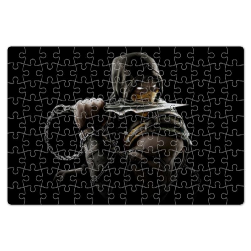 Пазл магнитный 18 x 27 (126 элементов) Printio Mortal kombat (scorpion) пазл магнитный 18 x 27 126 элементов printio пазл mortal kombat x sub zero